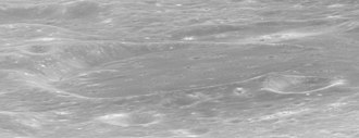 Helmert (crater) - Oblique view from Apollo 17