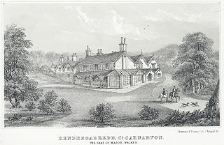 Hendregadredd, Co. Carnarvon: The Seat Of Major Walker