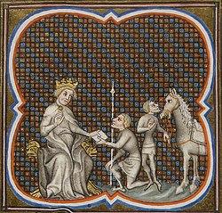 Henri Ier, roi de Chypre, reçoit un messager.jpg