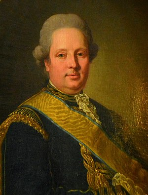 Henrik af Trolle - Portrait by Per Krafft the Elder.