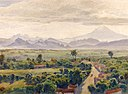 Henry Otto Wix - 'View of Cuernavaca', watercolor, Smithsonian American Art Museum.jpg