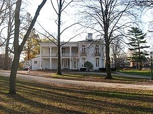 Henry Smith Lane - Lane's house in Crawfordsville