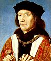 Henry Tudor of England cropped