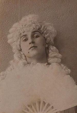 Herbert Charles Pollitt - Image: Herbert Charles Jerome Pollitt as Diane de Rougy, 1890s