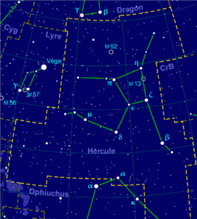 Image illustrative de l'article Hercule (constellation)
