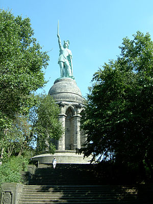Detmold (region) - Hermann monument near Detmold