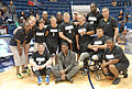 Hershel Walker poses with Sitting Volleyball Team 130515-A-BQ341-003.jpg