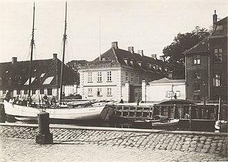 Royal Horse Guards Barracks (Copenhagen) - The Artillery Barracks in the late 19th century