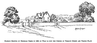 The Fall of the House of Usher - Home of Hezekiah Usher's son, Hezekiah