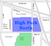 High Park North map.png