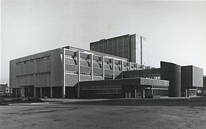 Highbury College - Image: Highbury college old Hblock