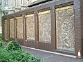 Highly decorative 19th century plasterwork within King's College grounds off Chancery Lane - geograph.org.uk - 966918.jpg