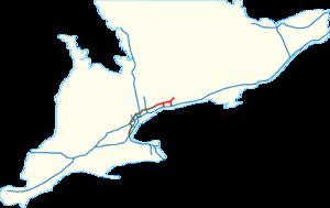 Ontario Highway 418 - Image: Highway 407 extensions