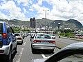 Highway traffic jam, suburbs of Port Louis - panoramio.jpg