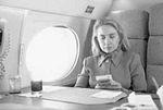 Hillary Rodham Clinton on plane using Game Boy (10).jpg