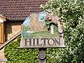 Hilton Village Sign - geograph.org.uk - 1305470.jpg