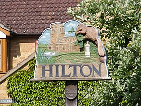 Hilton Village Sign - geograph.org.uk - 1305470.jpg