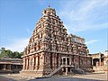 Hindu temple Airavateshwara dedicated to Shiva at Darasuram Kumbakonam Tamil Nadu India 2014.jpg