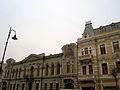 Historic facades of old Tbilisi, Georgia.JPG