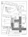 Historical plan of Jesus College, Cambridge (1897) - cambridgedescri00atkiuoft 0506.png