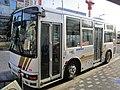 Hitachi Jidosha Kotsu 1064 at Kanamachi Station.jpg