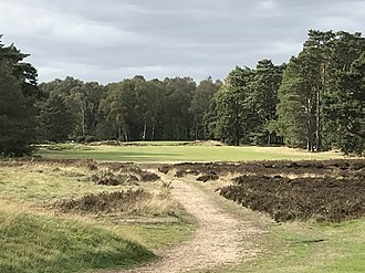 Woodhall Spa Golf Club - 11th hole on the Hotchkin Course