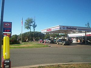 Holiday Stationstores - A Holiday Stationstore in Marquette, Michigan.
