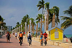 Hollywood Beach bikers.jpg