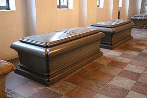 Andreas du Plessis de Richelieu - Phraya Cholayuthyothin's sarcophagus at Church of Holmen, Copenhagen, Denmark