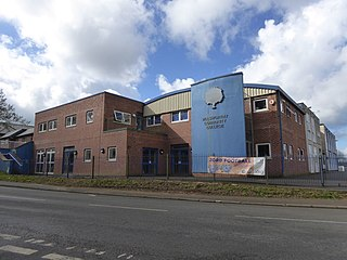 Holsworthy Community College Academy in Holsworthy, Devon, England