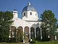 Holy Trinity Ukrainian Catholic Church, Vegreville, side.jpg