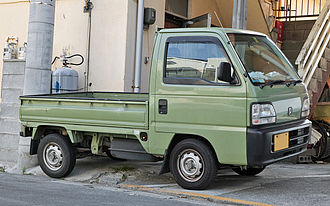 Honda Acty - Post-1996 Honda Acty truck (final facelift)