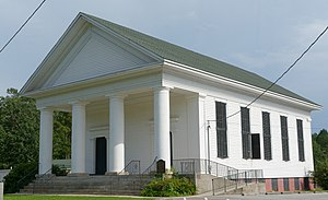 National Register of Historic Places listings in Burke County, Georgia - Image: Hopeful Baptist Church, Keysville, GA, US