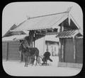 Horse-drawn sledge in gateway of Manchu house across Amur river from Blagovestchenck (i.e. Blagoveshchensk) LCCN2004708080.tif