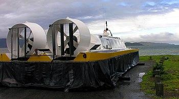 Hovercraft, Petone, Wellington 15 July 2005