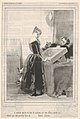 How much can you get from an old thing like that? As much as you can get from...Romeo, Juliet, plate VII from the suite Parisian Follies, published in Le Charivari, November 25, 1846 MET DP832945.jpg