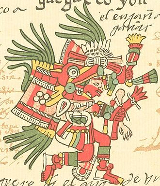 Huēhuecoyōtl - Huehecóyotl in the Codex Telleriano-Remensis.