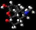 Hydromorphone molecule ball.png