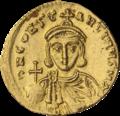 INC-3063-r Солид. Лев III Исавр и Константин V. Ок. 720—725 гг. (реверс).png