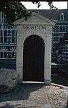 interieur, trappenhuis, schildering (sint christoffel) - amersfoort - 20260093 - rce