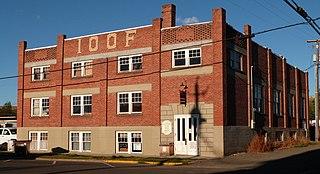 Enterprise I.O.O.F. Hall United States historic place