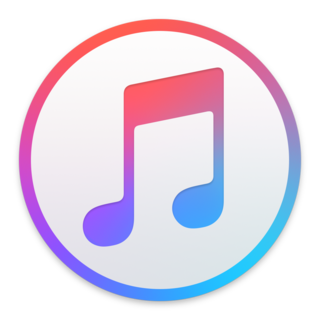 iTunes media player and library software