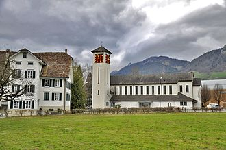 Ibach, Switzerland - Ibach parish church