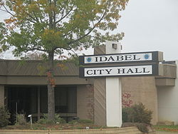 Idabel, OK, City Hall IMG 8503.JPG