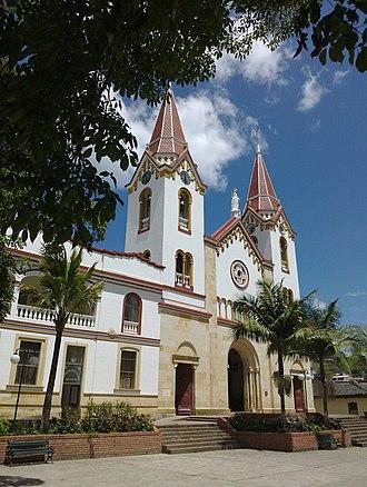 Gachetá - Image: Iglesia de Gacheta Cundinamarca