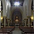 Iglesia de Santa María, Sanlúcar la Mayor. Interior.jpg