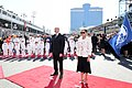 Ilham Aliyev watched the opening ceremony of the 2019 Formula-1 Azerbaijan Grand Prix and final race 09.jpg