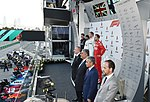 Ilham Aliyev watched the opening ceremony of the 2019 Formula-1 Azerbaijan Grand Prix and final race 18.jpg