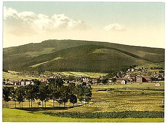 Ilmenau - View around 1900