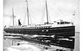 Image of a large Great Lakes passenger vessel, from Curwood's 1909 The Great Lakes -at.png